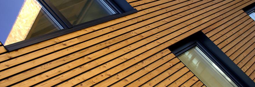 facades en bois