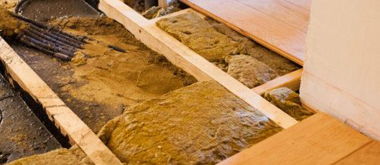travaux d'isolation de plancher gratuitement