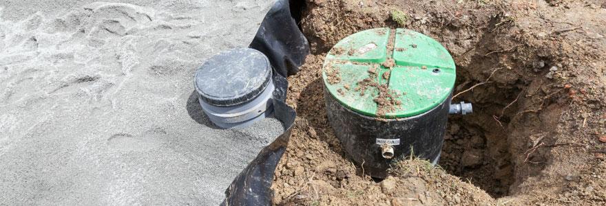 Traitement des eaux usées domestiques